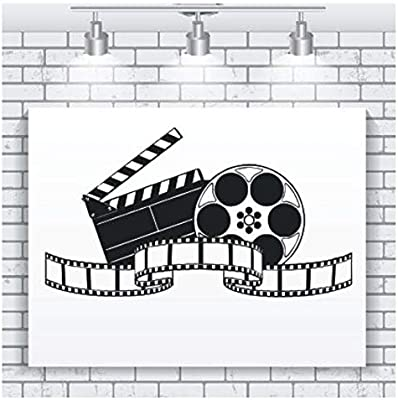fssdd Sala de Cine en casa Etiqueta de la Pared Película Película ...