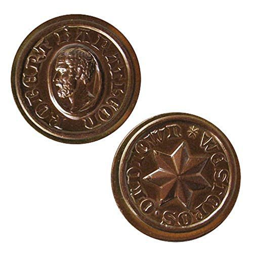 Game of Thrones Coin Replica: Robert Baratheon Copper Star by Shire Post Mint