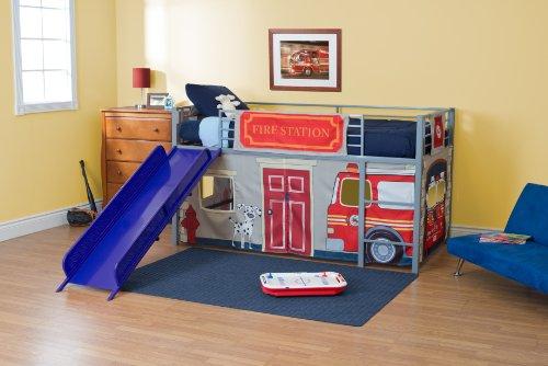 Vorhang Etagenbett Feuerwehr : Amazon dorel home produkte vorhang set für junior loft bett