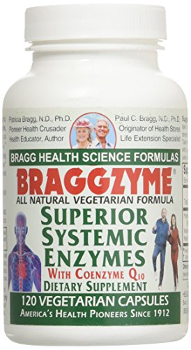 Braggzyme Superior Systemic Enzymes 120 Capsules