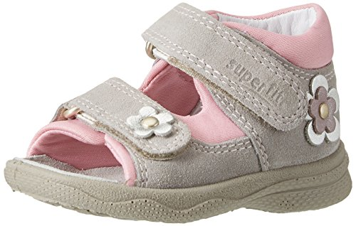 Sandales Kombi Fille Superfit Ouvert Pebble Beige Bout Polly Tnw5zO5fqg