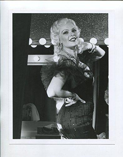 "MOVIE PHOTO: Mae West 7""x9"" Black and White Promotional Still Ann Jillian FN"