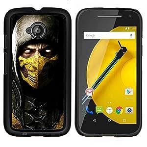 - Devil Hero in Golden Mask For Motorola Moto E 2nd Generation Duro Snap en el tel???¡¯???€????€?????fono celular de la cubierta @ Cat Family
