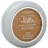 L'Oreal True Match Powder, Classic Tan [N7], 0.33 oz (Pack of 2)