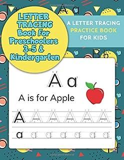 letter tracing book for preschoolers 3 5 kindergarten letter tracing books for kids