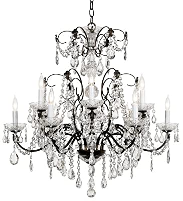 Schonbek Madison Twelve Light Heritage Crystal Chandelier