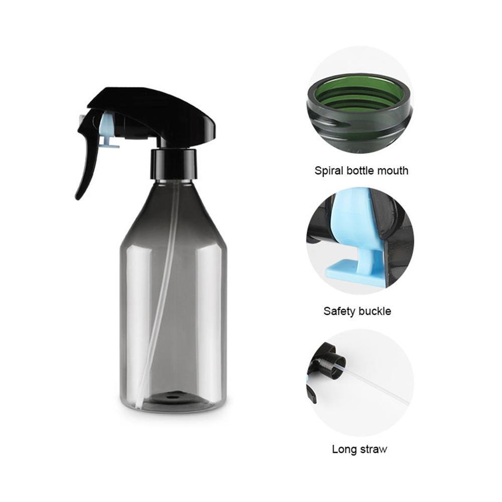 FOONEE - Botella de espray vacía de plástico, 300 ML, para riego de Botellas de Agua de 300 ML, para Cocina, baño, Pelo, Limpieza (2 Unidades): Amazon.es: ...