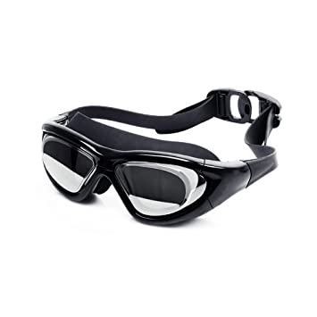 f9d26e47a2 No Leaking MaxView Corrective Myopic Optical Swimming Goggles (Diopter -2.0  to -9.0)