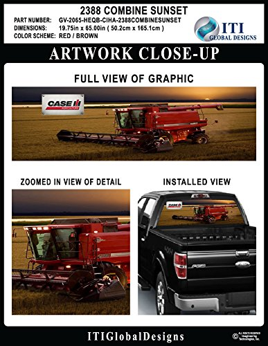 Case Ih Agriculture 2388 Combine Sunset By Itigd