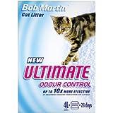 Bob Martin Ultimate Odour Control Cat Litter, 4 Liter