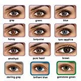 Dicesnow Women Cosplay Multi-Color Attractive Cute Contact Lenses Charm Eye Makeup Eye Cosmetic Shadow(One Piece)