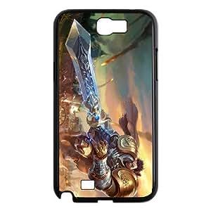 samsung n2 7100 phone case Black League of Legends Garen TTT2335134