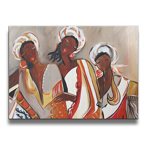 African Maiden Wall Decor - Shannon BrownriceS AFrican Maidens Love Frameless Decor Canvas Wall Art Painting For Home,Living Room,Bedroom,office Modern Decoration 1620 Inches