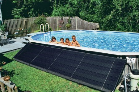 Swimming Pool Solar Heating Panels - Sun2Solar Ground Mounted Heating Solar Panel System for Above Ground & Inground Swimming Pools | Hardware Included | 4-Foot-by-20-Foot