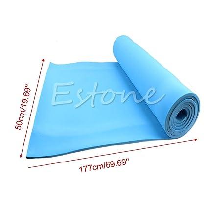 S-Vntrendy - 177x50 EVA Foam Yoga Mat Dampproof Sleeping ...