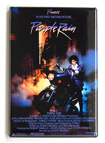 Purple Rain Movie Poster Fridge Magnet
