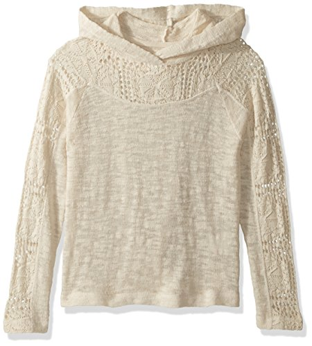 O'Neill Big Girls' Amore Pullover Sweater, Naked, (Oneill Kids Sweater)