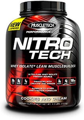 Muscletech Nitro Tech Performance Series - 1,8 kg Mocha Cappuccino Swirl