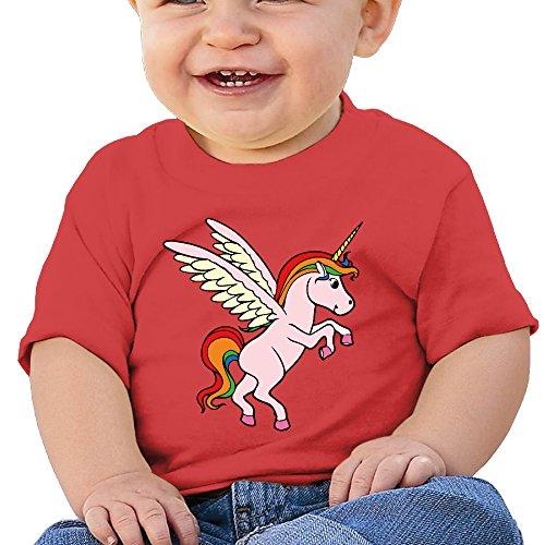 Colorful Cartoon Animal Unicorn Infant Bodysuit Romper Jumpsuit Outfits 6 M (Ancient Greek Outfits)