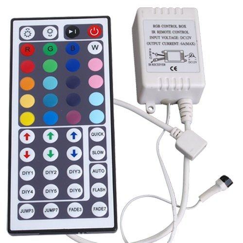 Controller 44 Tasten Remote für RGB LED Strip Streifen