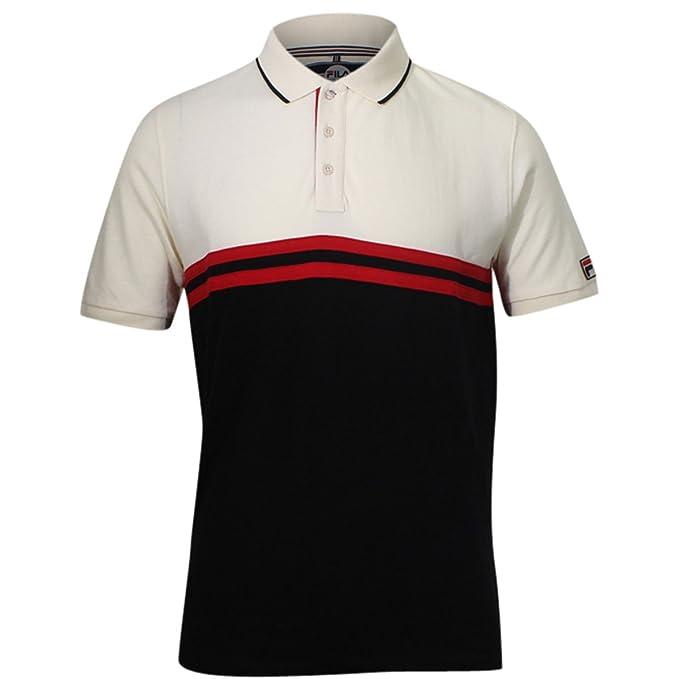 Fila Men's Dominico Polo Shirt at Amazon Men's Clothing store