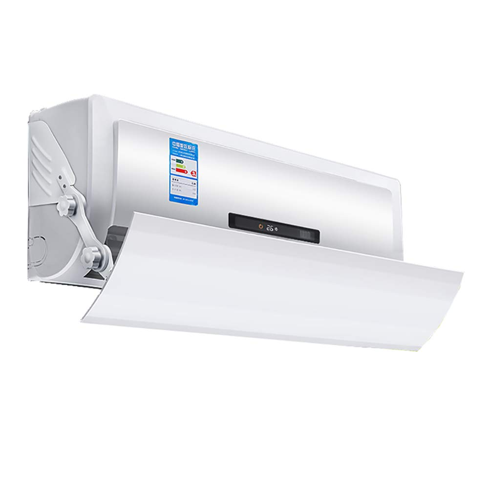 Air Conditioning Wind Deflector Deflector Outlet Air Cooled Baffle Wind Direction Adjustable Universal Shield White