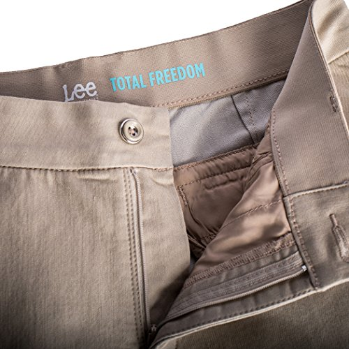 e6254ad0 LEE Women's Plus Size Motion Series Total Freedom Maddie Trouser chic