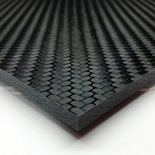 Carbon Fiber Plate Sheet - Void Free made by SKUR Composites - 0.25