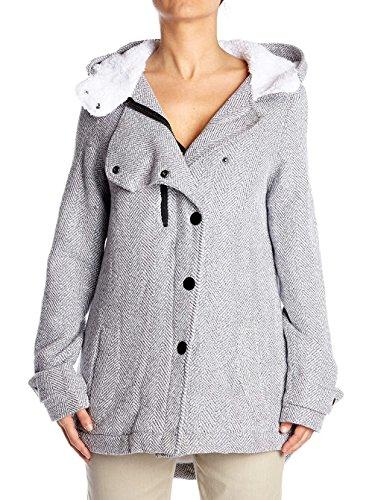 Hurley Freda Jacket, Color: Heather Grey, Size: L