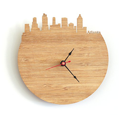 Atlanta Skyline Clock