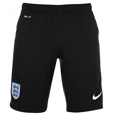 2016-2017 England Nike Home Goalkeeper Shorts (Black) - Kids