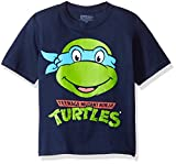 Nickelodeon Little Boys' Toddler Teenage Mutant Ninja Turtles Group T-Shirt, Navy, 3T
