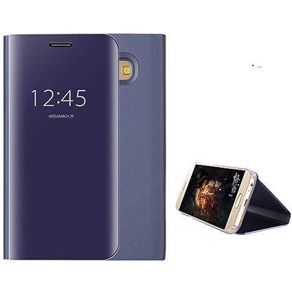 reputable site a4b8d 3c3d3 Amazon.com: Coohole Smart Mirror Shiny View Flip Hard Case Cover For ...