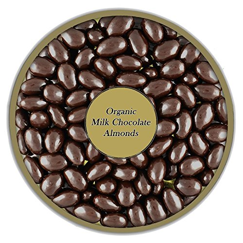 Organic Milk Chocolate Almonds by Healthy Nut Factory