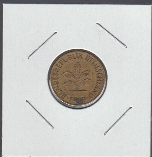 1950 Germany Five Oak Leaves Nickel Choice Fine ()
