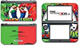 #7: Mario and Luigi Bros Super Hero Golf Kart Smash Video Game Vinyl Decal Skin Sticker Cover for the New Nintendo 3DS XL LL 2015 System Console
