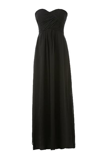 Amazon.com: Kiss vestido de dama de honor vestidos largos de ...