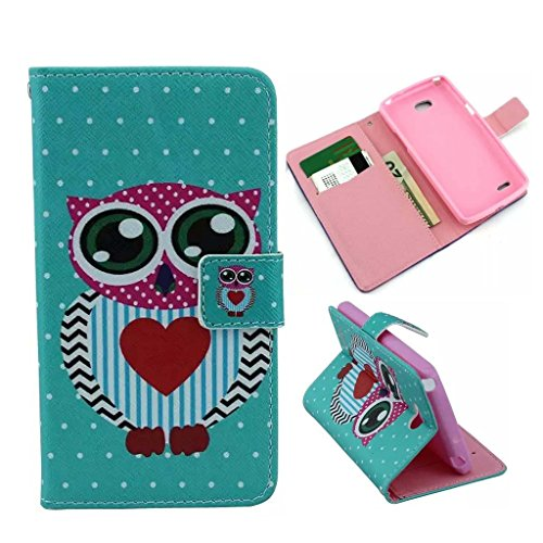 For L80,Kaseberry Case for LG L80,056 Luxury Leather Wallet Card case cover For LG Optimus L80