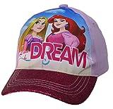 Disney Princess Girls ''Dare to Dream'' Baseball Cap - Size Toddler 2-5 [6014]