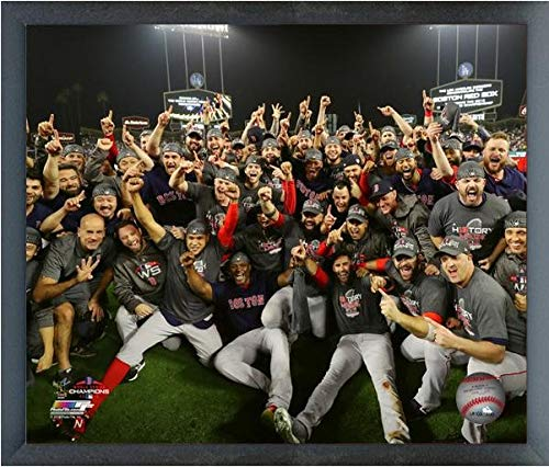 Red Sox World Series Photos - Boston Red Sox 2018 MLB World Series Team Celebration Photo (Size: 12