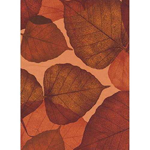 - Timeless Treasures Fabrics Russet Leaves 108 Inch Wide Quilt Back