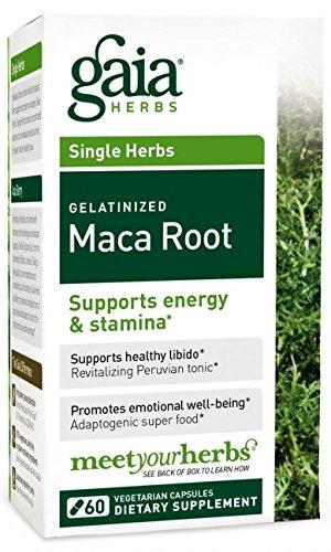 Gaia Herbs Maca Root, 60 Vegetarian Capsules