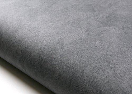 ROSEROSA Peel and Stick PVC Faux Concrete Decorative Instant Self-Adhesive Covering Countertop Backsplash Gray (DM224 : 2.00 Feet X 6.56 Feet) (Concrete Vinyl)
