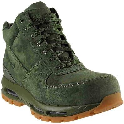 Amazon Com Nike Air Max Goadome 2013 Mens Boots Army Olive Gum