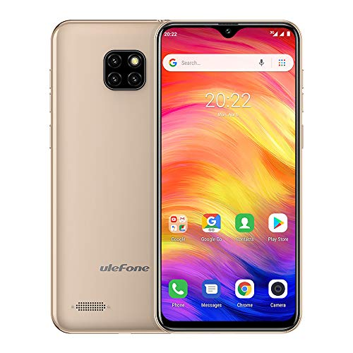 "Ulefone Note 7 Unlocked GSM Cell Phones 3G, Android 9.0t Unlocked Smartphone Dual Sim 6.1"" 1GB+16GB(TF Extend 64GB) 8MP…"