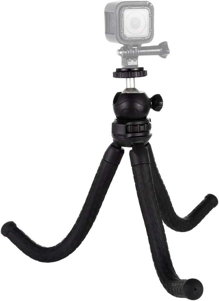 Cellphone Size:30cmx5cm Durable GoPro GuiPing Mini Octopus Flexible Tripod Holder with Ball Head for SLR Cameras