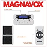 Magnavox MM435-WH 3-Piece Compact CD Shelf System