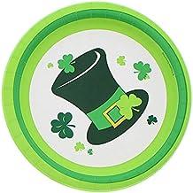 Irish Party Round Plates Set (40 Count)