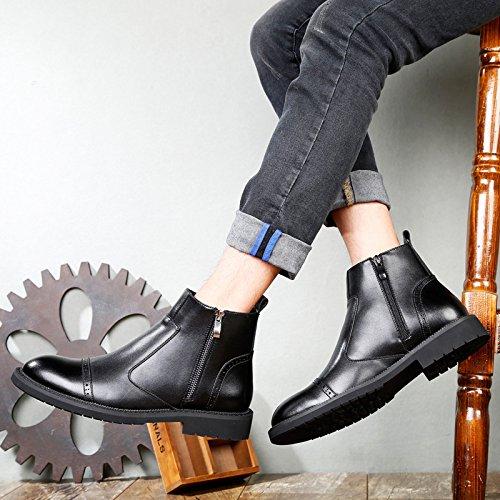 De Martin Boots Hombre Para 1 Retro Botines Moda Botines FxIZzqqwp