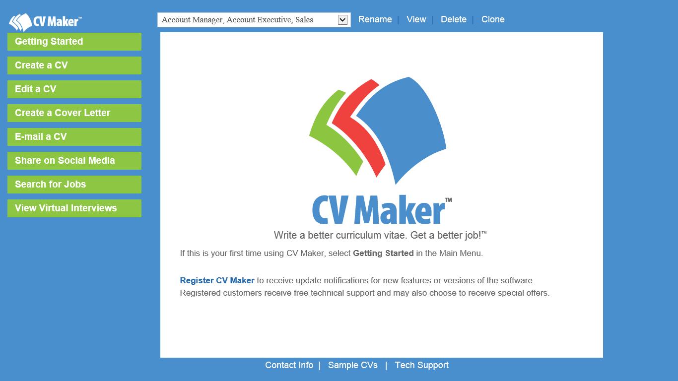 Amazon Com Cv Maker Download Software